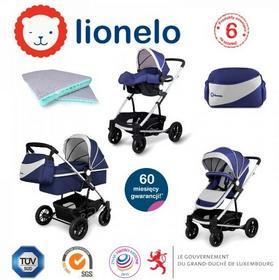 LIONELO  LUNA 3w1 Niebieski