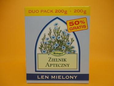 Herbapol Len mielony 200 g+200 g
