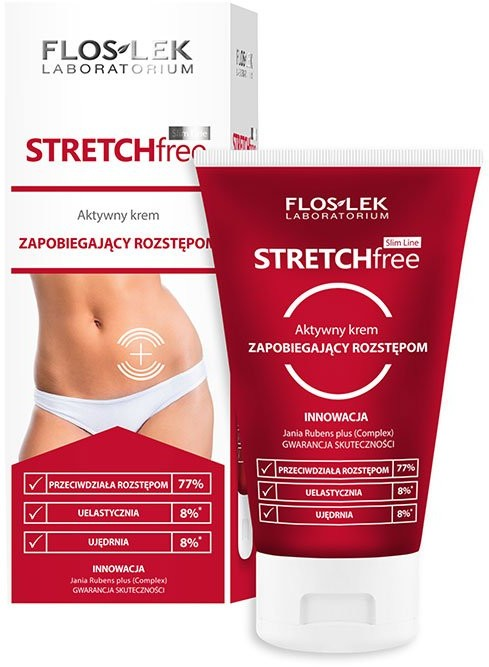 Flos-Lek Slim Line Stretch Free krem zapobiegający rozstępom 150 ml