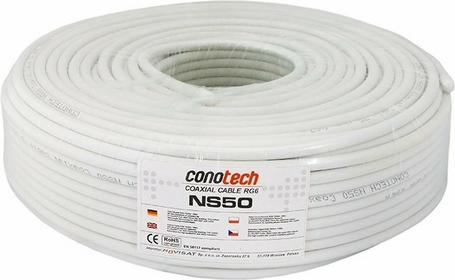 Conotech Kabel koncentryczny antenowy telewizyjny satelitarny NS50