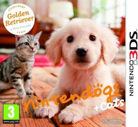 Nintendogs + Cats: Golden Retriever and New Friends 3DS