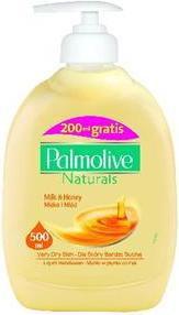 Palmolive Mydło w płynie z dozownikiem Mleko i Miod 300ml
