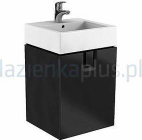 Koło Szafka pod umywalkę 50 cm czarny mat Twins 89485-000