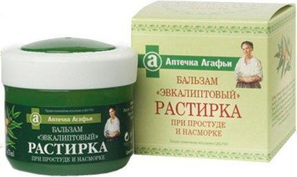 Pierwoje Reszenie Babuszka Agafia Balsam kosmetyczny Eukaliptus 75ml