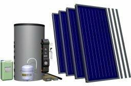 Hewalex Zestaw solarny 5 TLP-INTEGRA500 dla 3-8 osób 95.42.55