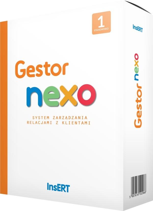 Opinie o InsERT Gestor Nexo (3 stan. rozszerzenie)