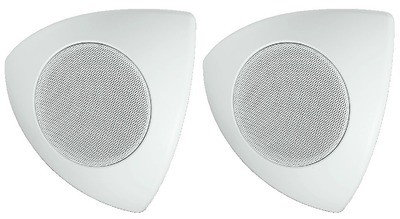 Monacor MKS-48/WS - Zestaw głośnikowy naścienny/sufitowy/narożnikowy (para)