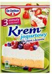 Dr Oetker Krem jogurtowy 3 minuty 140 g