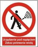 Opinie o Znak 14 Zakaz polewania wodą 225x275 PB