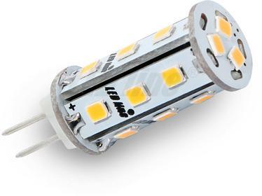 LED Line Żarówka LED 18 SMD G4 10~18V AC/DC 3W biała zimna CORN CCD