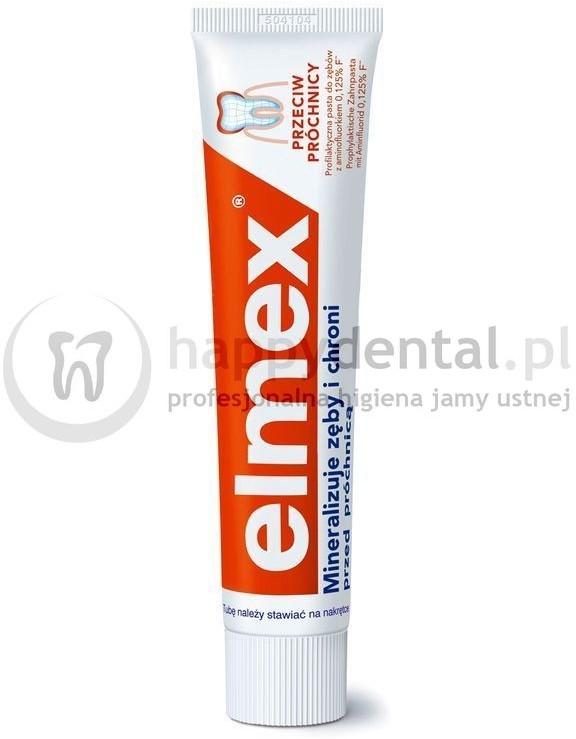 Gaba International Gaba Classic 75ml - przeciw-próchnicowa pasta do zębów z aminofluorkiem (p