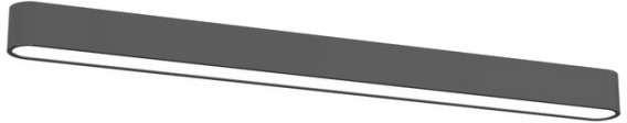 Nowodvorski plafon LAMPA sufitowa SOFT 6991 prostokątna OPRAWA metalowa IP20 gra