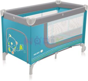 Baby Design Łóżeczko łóżeczka turystyczne Holiday (turkusowe) ! Holiday 05