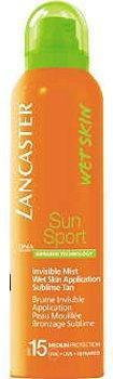 Lancaster Sun Sport Invisible Mist Wet Skin SPF15 Mgiełka w sprayu do ciała 125ml