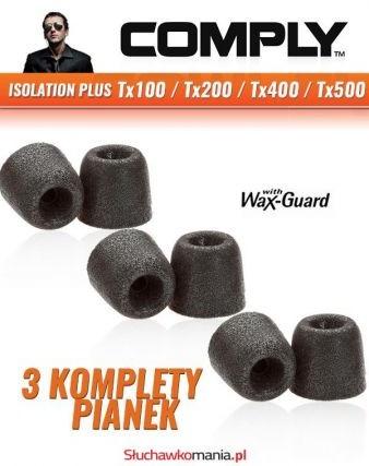 Comply Pianki Isolation Plus Tx200 Comfort Isolation Tx200