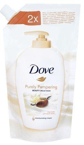 Dove Unilever Płyn myjący Purely Pampering Shea Butter with Warm Vanilla opakowanie uzupełniające 500 ml