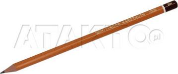 Opinie o Kin KOH I NOOR ołówek techniczny 3H b/g 1500 AR5041