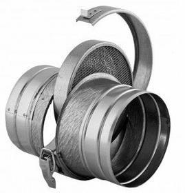 Darco Filtr powietrza okrągły kanałowy FOK 125 / OC ŚREDNICA 125 MM