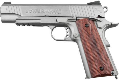 CyberGun Wiatrówka Swiss Arms 1911 Tactical 4,5 mm (288508)