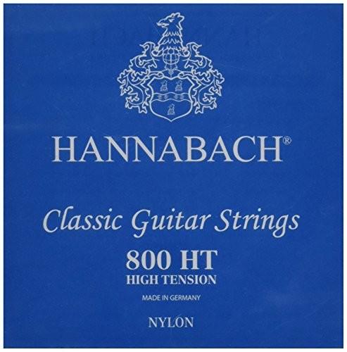 Hannabach Klassik Gita rrensaiten Serie 800High Tension posrebrzanakomplet 652387
