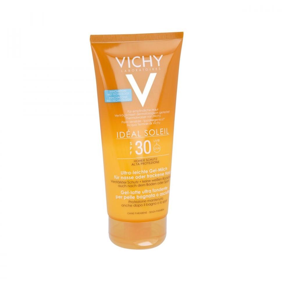 Vichy Ideal Soleil ultralekkie mleczko-żel SPF30+ 200ml