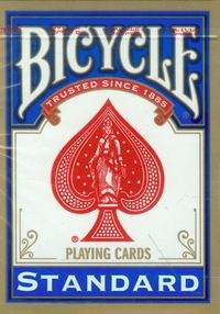 Bicycle U.S.Playing Card Company Rider Back Standard Talia kart