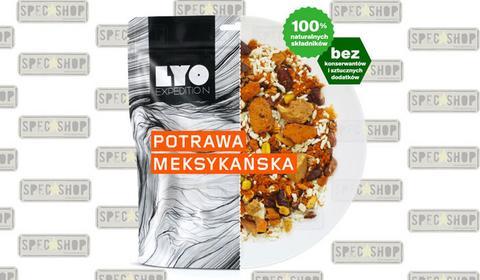 LyoFood LYO Expedition - Racja liofilizowana POTRAWA MEKSYKAŃSKA 370g