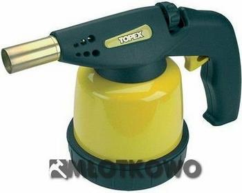 TOPEX Lampa lutownicza gazowa na naboje zapłon piezo 44E141