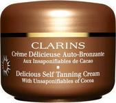 Opinie o Clarins Delicious Self Tanning Cream krem samoopalający 125ml