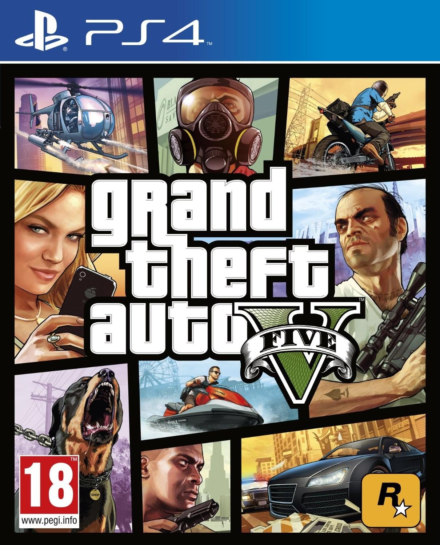 Opinie o   Grand Theft Auto V PS4