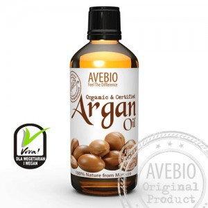 Avebio Olej arganowy organiczny ECOCERT 100 ml
