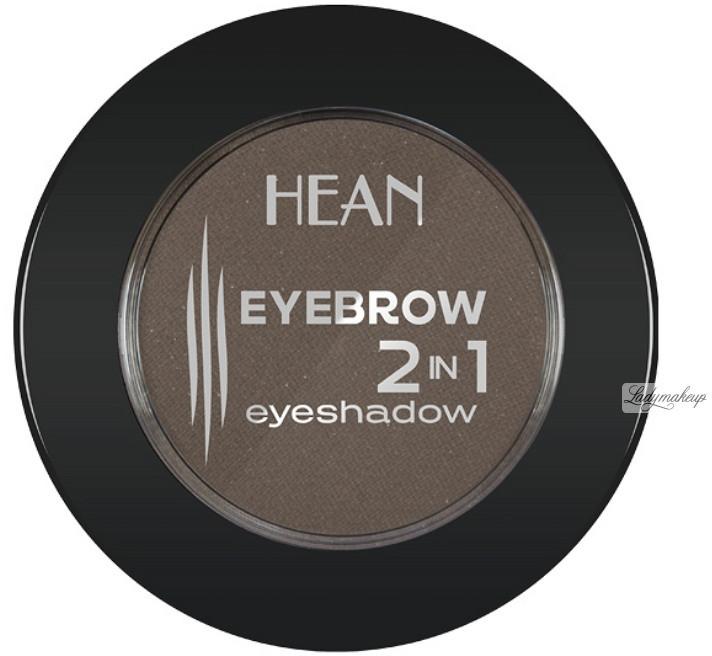 HEAN EYEBROW 2 IN 1 EYESHADOW - Cień do stylizacji brwi i cień do powiek - 404 - BRUNETTE HEASIDPO-DOPO-02