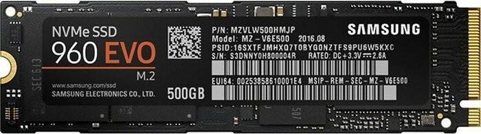 Samsung 960 Evo MZ-V6E500BW