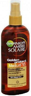 Garnier Ambre Solaire Golden Protect SPF15 olejek do opalania 150ml