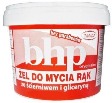 OSTRZESZÓW Żel do mycia rąk BHP ze ścierniwem i gliceryną 500 g