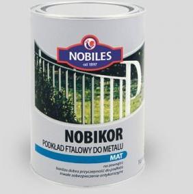 Nobiles Podkład ftalowy do metalu NOBIKOR czerwony tlenkowy 1L