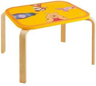 Trudi Kubuś Puchatek Drewniany Stolik dla dzieci