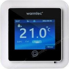 Warmtec Regulator temperatury CTS (IP21) z kolorowym, dotykowym wyświetalczem