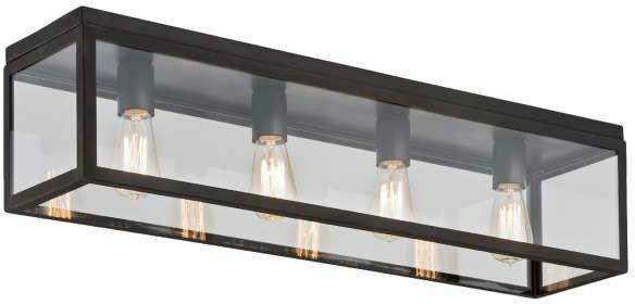 Kaspa Plafon Lampa sufitowa LOFT 2 10162406 OPRAWA industrialna IP20 Brązowy prz