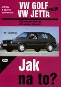 Hans-Rüdiger Etzold VW Golf, Jetta benzín od 9/83 do 6/92 Hans-Rüdiger Etzold