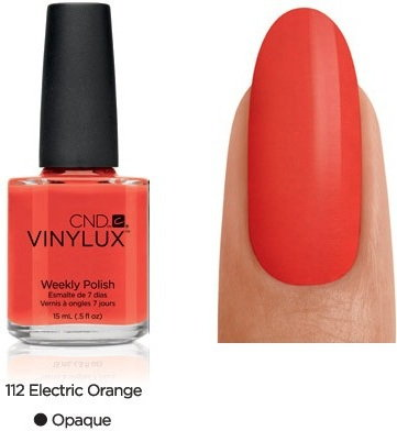 CND VINYLUX lakier 7-dniowy Electric Orange NR 112