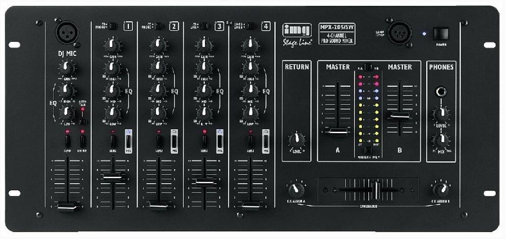 IMG Stage Line MPX-205/SW - mikser DJ
