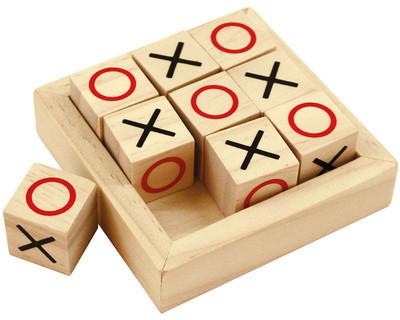 Bigjigs Toys Mini Kółko I Krzyżyk Drewniany