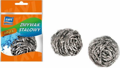 Ravi Zmywak stalowy druciak Inox