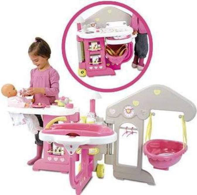 Smoby Berchet Domek dla lalek Baby Nurse Opiekunka 16 akc. 24391