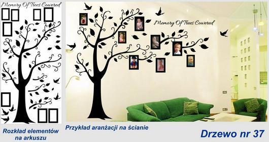 Naklejka Drzewo - nr 37