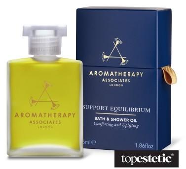 Aromatherapy Associates Support Equilibrium Bath Shower Oil Przynoszący spokój olejek do kąpieli i pod prysznic 55ml