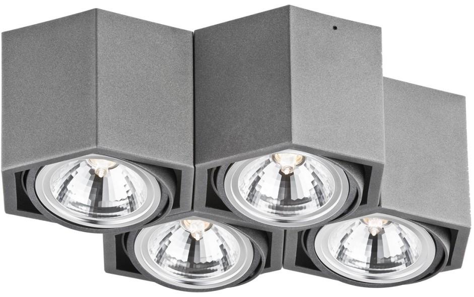Argon Oprawa natynkowa LED 4pł 1625 ESPRESSO