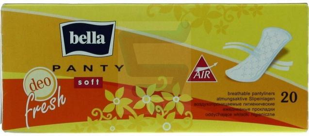 Bella Panty Soft Wkładki higieniczne deo fresh 20 szt.