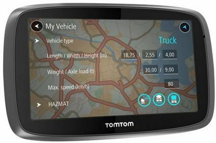 TomTom Trucker 6000 Truck Świat
